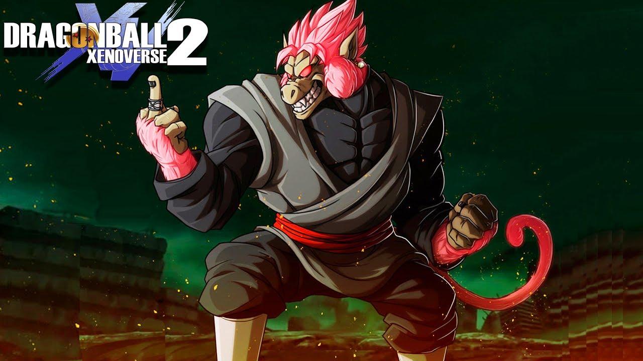 GREAT APE GOKU BLACK! Limit Breaker Rose Oozaru Goku Black Arrives ...