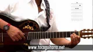 Cómo tocar en la guitarra Cuando me ena...