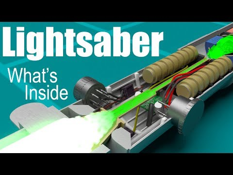 How does a Lightsaber work?