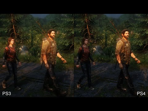 The Last Of Us Remastered PS4 Vs PS3 Comparison