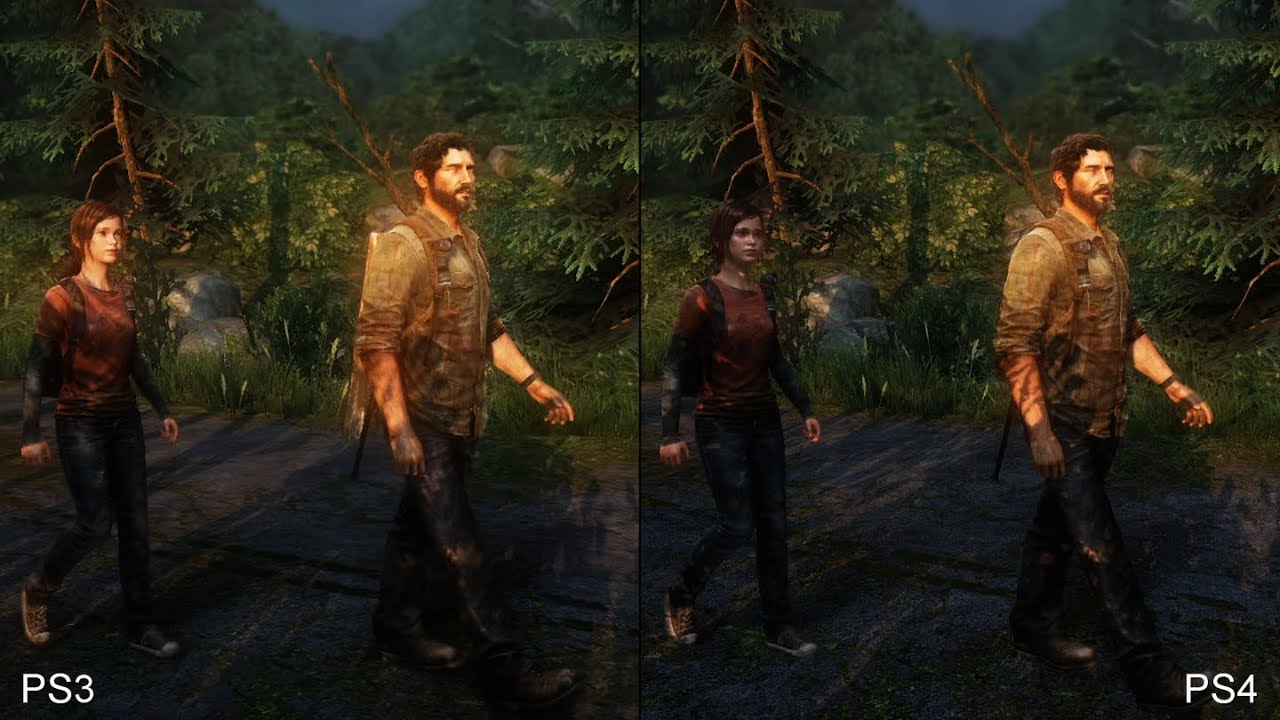Image result for last of us remastered vs regular