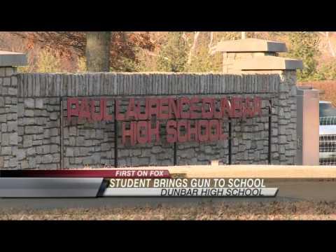 Dunbar High School:  Student Brought Gun