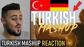 TURKISH MASHUP - REACTİON | Kadr x Esraworld (Sen olsan bari, Leylim Ley, Imkansizim, Narin Yarim)