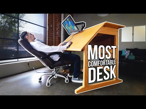 This Desk Will Prevent Back Pain! - Ergomaniac Furniture