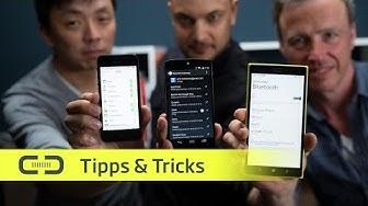 Datenübertragung mit iOS, Android & Windows Phone