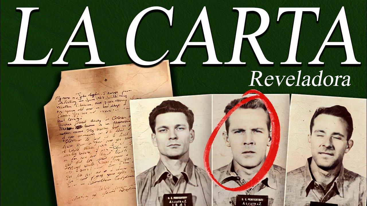 ????CARTA REVELADORA QUE PODRÍA PONER FIN AL ESCAPE DE LA CÁRCEL DE ALCATRAZ
