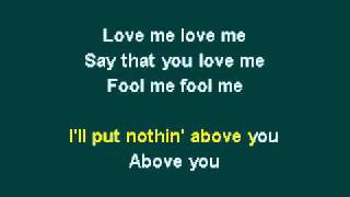 Justin Bieber - Love Me Karaoke