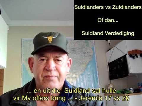 Download Maandag, 21 Junie 2021. Suidlanders vs Zuidlanders.  Of Suidland Verdediging
