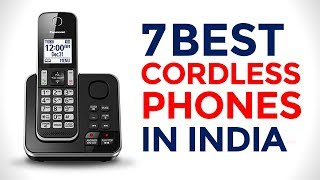 7 Best Cordless Phones in India with Price | Top wall mounted cordless telephones | 2017