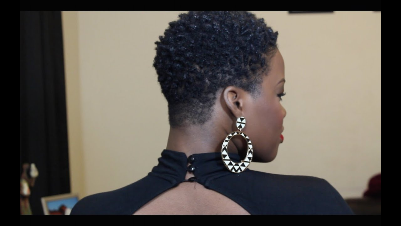 how to style twa natural hair the big chop amp how i style my twa 4c 6008 | maxresdefault