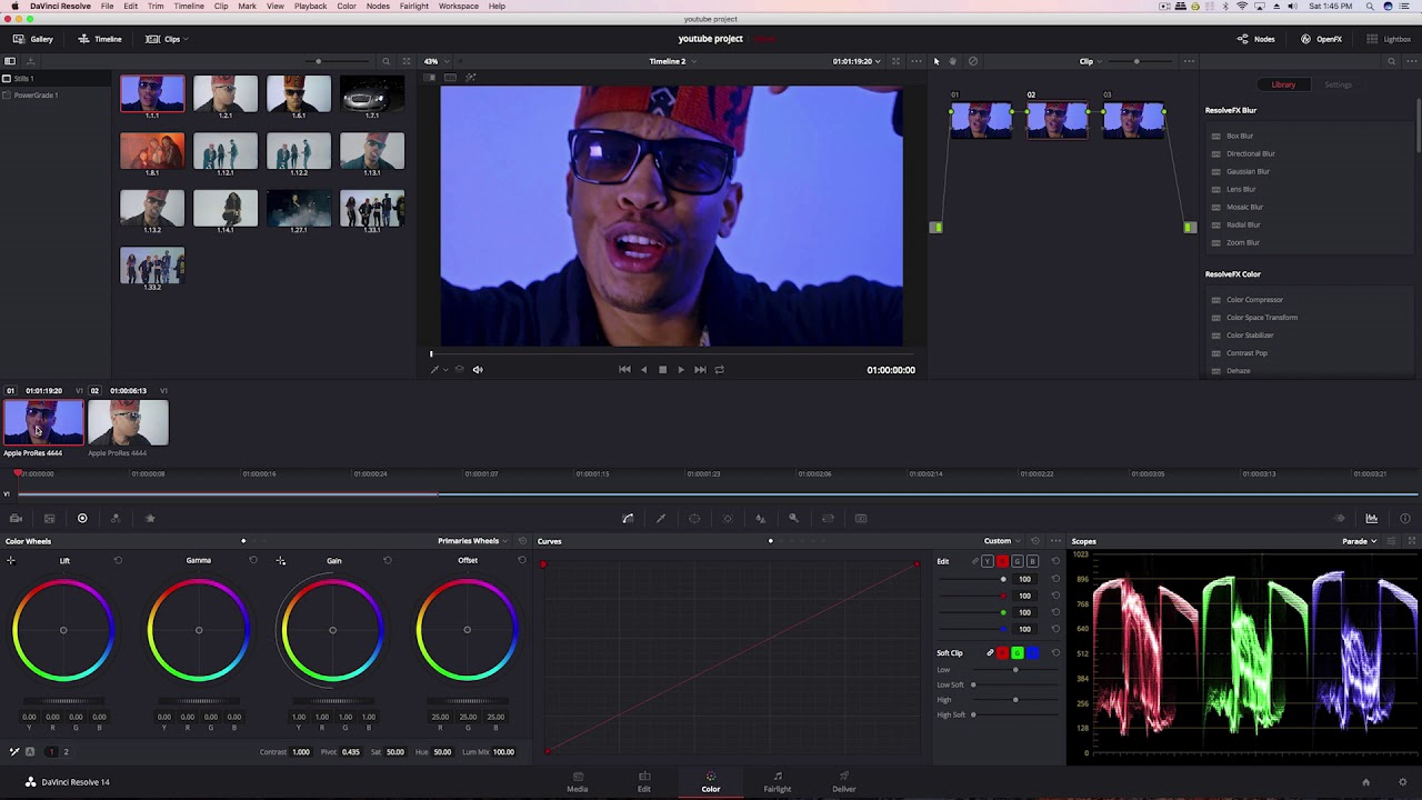 DaVinci Resolve Color Matching vs Premiere Pro 2018 New ...
