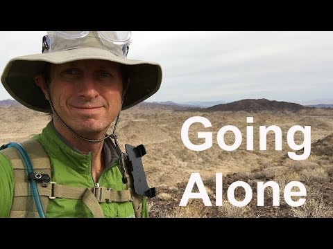 GOING ALONE - It's all hard hike