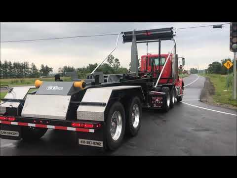 CL44K22J62 - Semi-Trailer 44,000 lbs. capacity for container from 18' to 24 foot