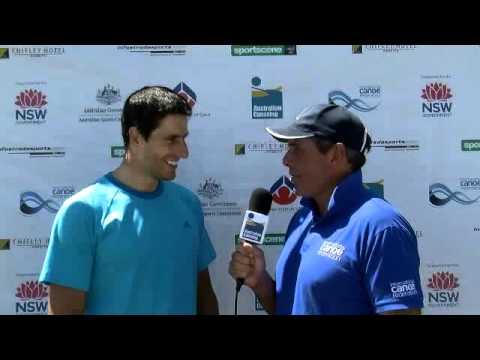 Interview with Tony Estanguet