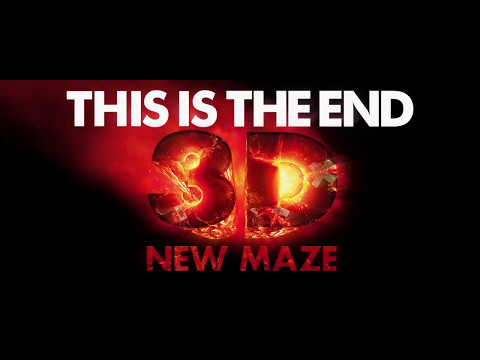This Is The End 3D Maze  Universal Studios Hollywood Halloween Horror Nights 2015