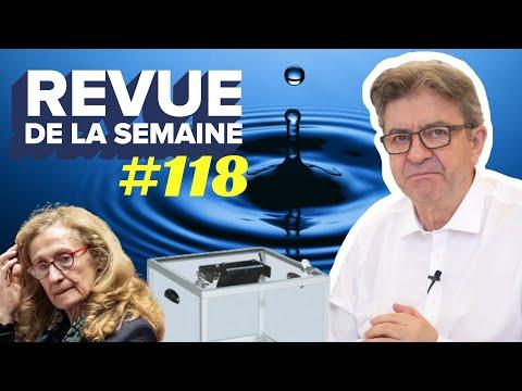 #RDLS118 - L'eau en danger / Municipales : tsunami d'abstention / Justice macronisée