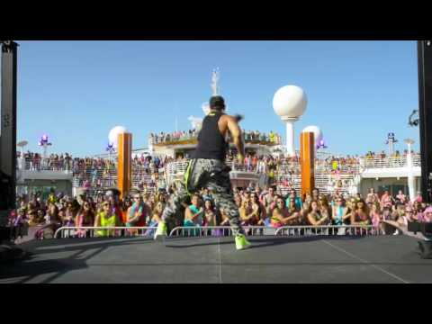 The Ultimate Vacation: Zumba Live Class at the Zumba Cruise