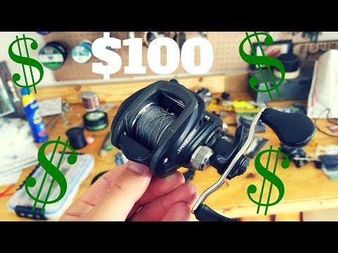 BEST Baitcasting Fishing Reel For Under $100!!!