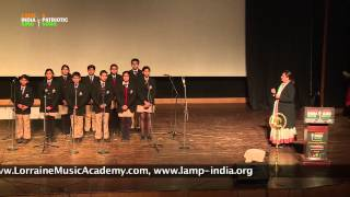 "Group Singing Performance: ""Lakshya"" (Patriotic Song) by students of Pathways World School, Gurgaon"