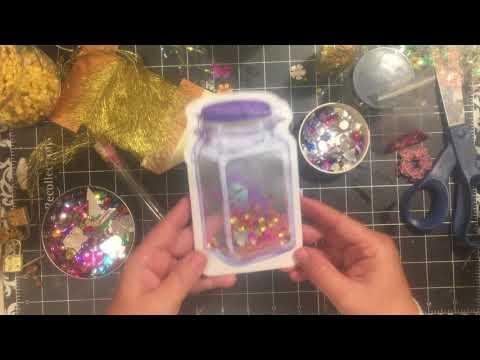 Fairy in a jar shaker embellishment tutorial...  |dearjuliejulie