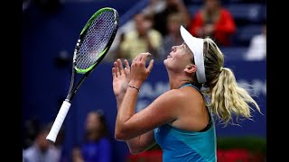 2017 US Open: Top 5 Moments Vandeweghe vs. Pliskova