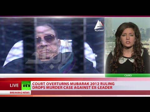 Mubarak acquitted of killing hundreds of protesters during 2011 uprising