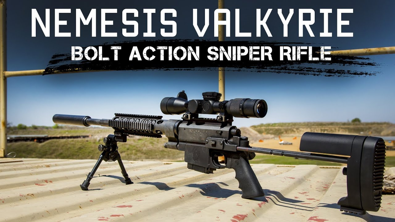 Concealable Backpack Precision Sniper Rifle