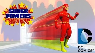 KENNER SUPER POWERS COLLECTION - THE FLASH ACTION FIGURE REVIEW (ita)