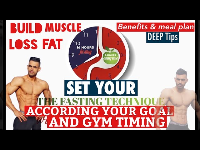 Intermittent Fasting and Lean Muscle Mass | Deep Tips About Best Meal plan And Timing