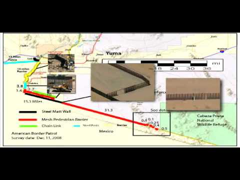 The Border Fence - Where it is and How It Works