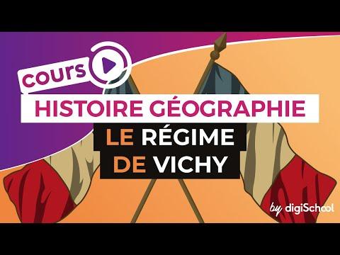 Le régime de Vichy - Histoire Géographie Collège - digiSchool