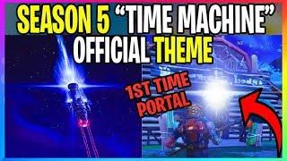 "*NEW* Fortnite: OFFICIAL SEASON 5 THEME ""TIME MACHINE"" (Fortnite Battle Royale Leaks)"