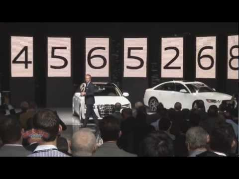 Audi Presentation at 2012 Los Angeles Auto Show