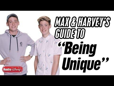 "Max & Harvey's Guide to ""Being Unique"" | Radio Disney"