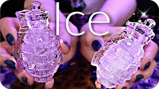 ASMR ICE Cold TINGLES! ❄️ Ice Tapping & Scratching, Ice Spheres