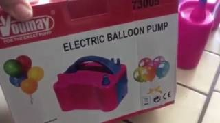 منفاخ البالون الكهربائي Youtube