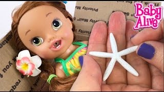 Baby Alive Doll Darci is Home from her Hawaiian Vacation with Aloha Baby Alive!