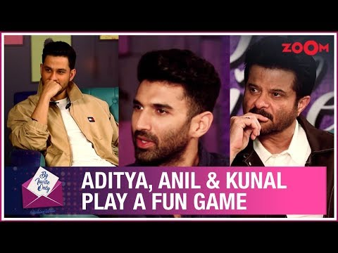 Aditya Roy Kapur, Anil Kapoor & Kunal Kemmu answer questions about each other | By Invite Only