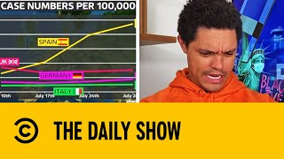 Second Waves Of Coronavirus Appearing Across The World | The Daily Show With Trevor Noah