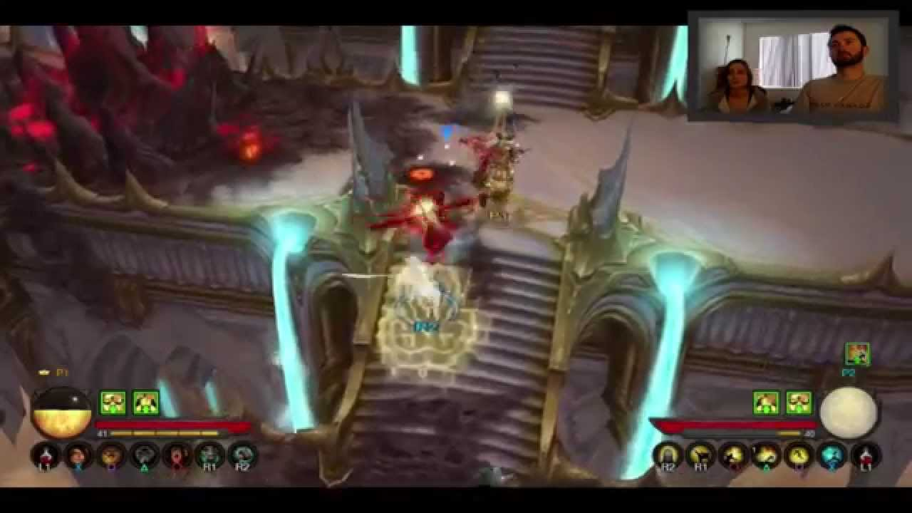 Couch coop diablo 3 with chlo3b part 5 youtube for Couch coop ps4