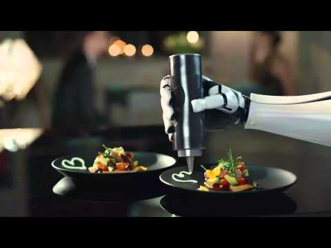 The robotic chef moley robotics youtube for Robot cuisine chef