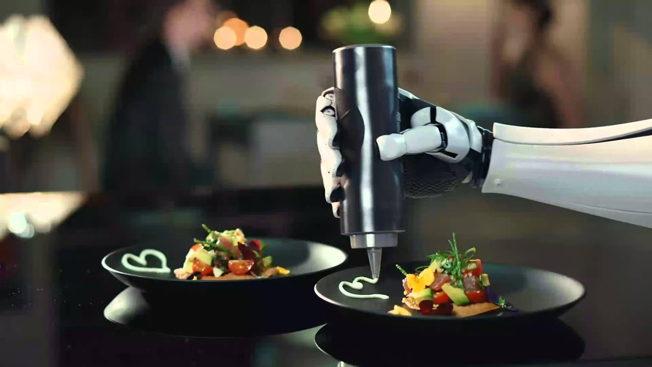 The robotic chef - Moley Robotics - YouTube