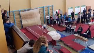 Чемпионат Украины с спортивной гимнастики.