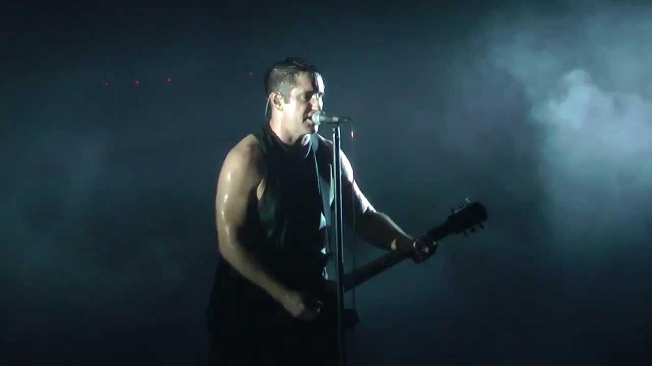 Nine Inch Nails Terrible lie - Milano Mediolanum Forum Assago 28/08 ...