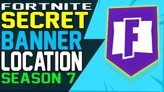 Fortnite SECRET BANNER WEEK 6 LOCATION Season 7 - Secret Battle Star Fortnite Battle Royale