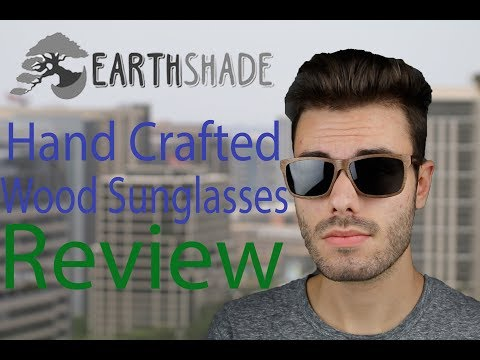 Earth Shade Wood Sunglasses Sunglasses Review