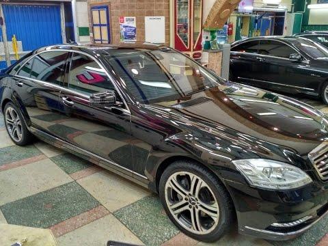 Б/У Mercedes Benz S-класс стал как новый!