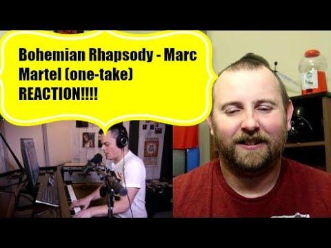 Bohemian Rhapsody - Marc Martel (one-take) REACTION!!