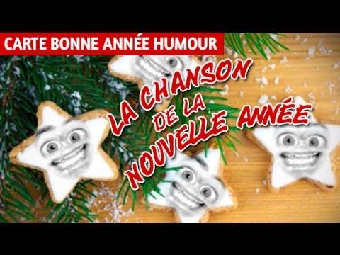 Hervorragend La chanson de la nouvelle année, bonne année humour, carte voeux  PE41