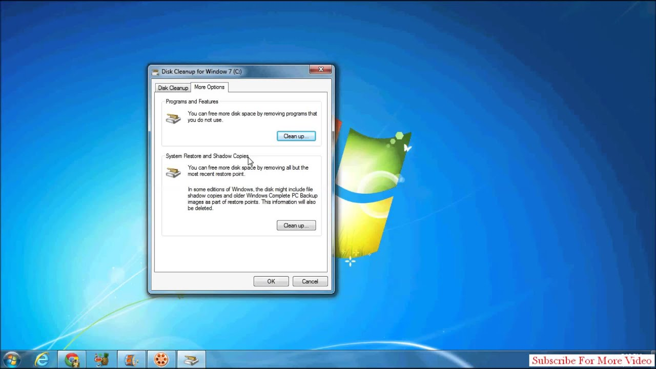 How To Delete Shadow Copies In Windows 7